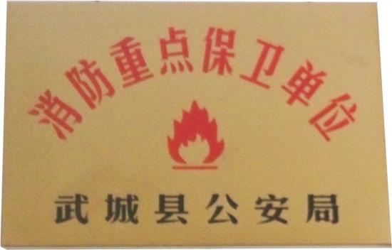 消防重点保wei单位