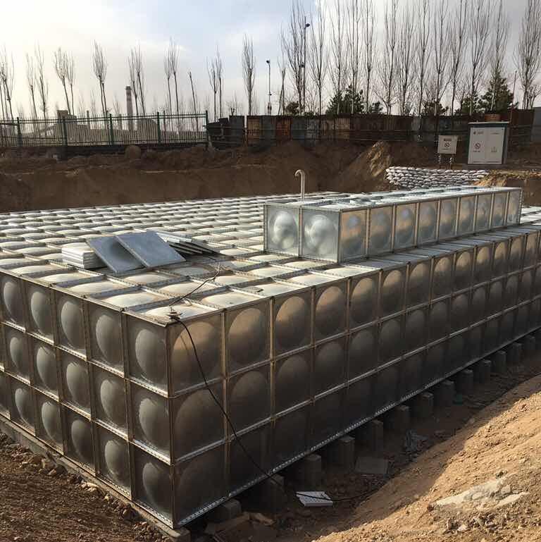 地埋式镀锌钢板shui箱